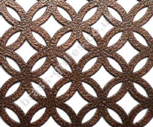 Inner Circular Decorative Metal Grille Antique Copper Sheet 2000mm x 1000mm x 1mm